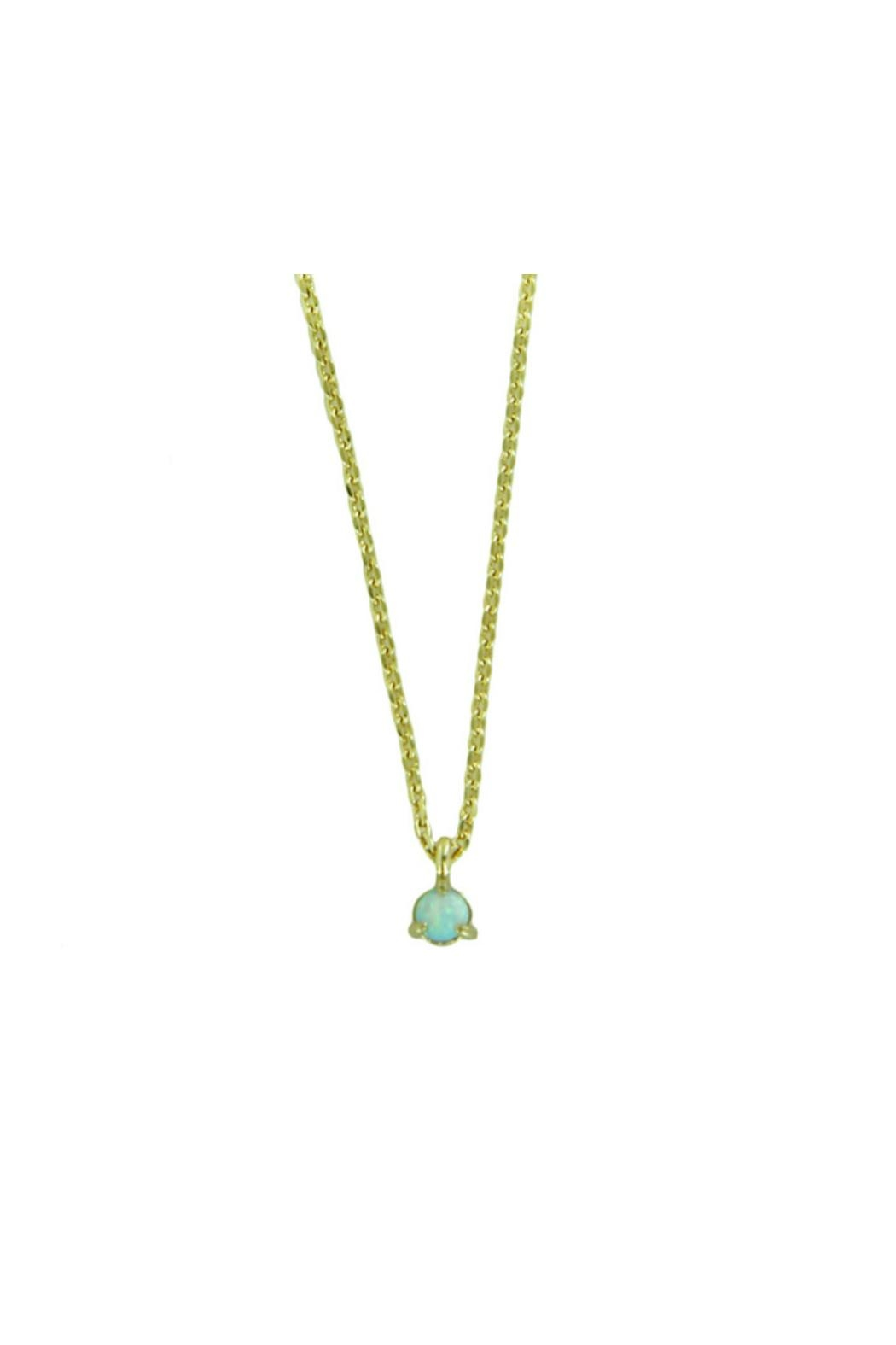 Light Years Collection Opal Dot Necklace - Main Image