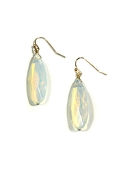 Light Years Collection Opalite Teardrop Dangle Earrings - Product Mini Image