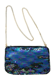 Light Years Collection Peacock Sequin Clutch - Product Mini Image