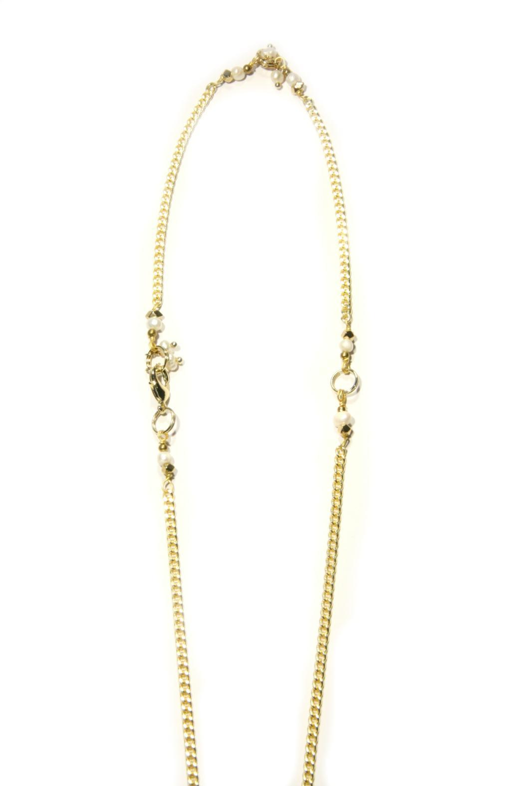 Light Years Collection Pearl Tassel Necklace - Side Cropped Image