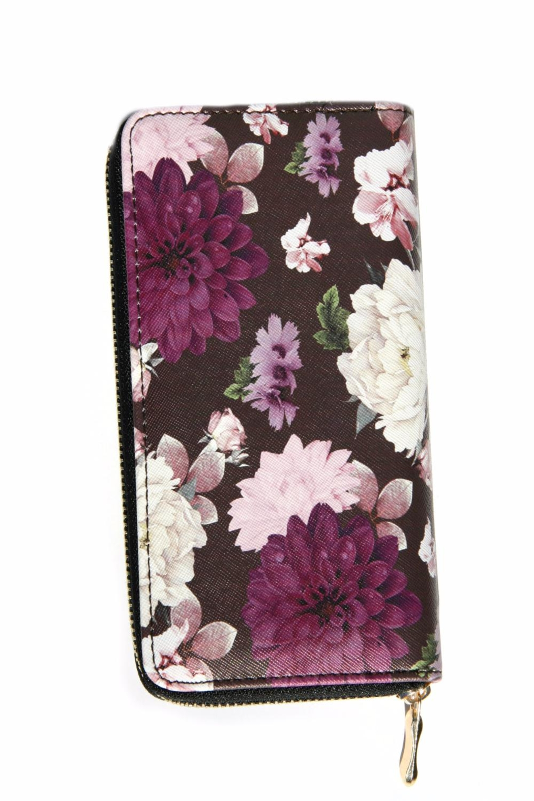 Light Years Collection Purple Floral Wallet - Main Image