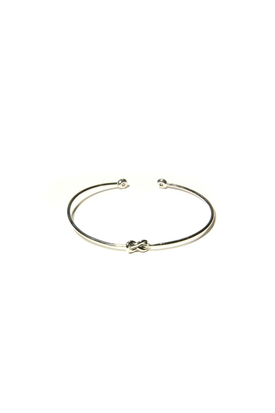 Light Years Collection Silver Knot Cuff - Main Image