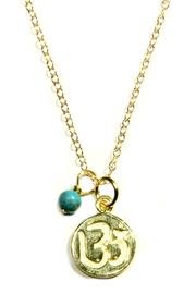 Light Years Collection Stamped Om Necklace - Product Mini Image
