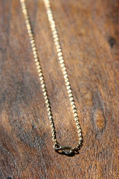 Shoptiques Product: Tiny Infinity Necklace