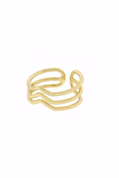 Shoptiques Product: Triple Chevron Ring
