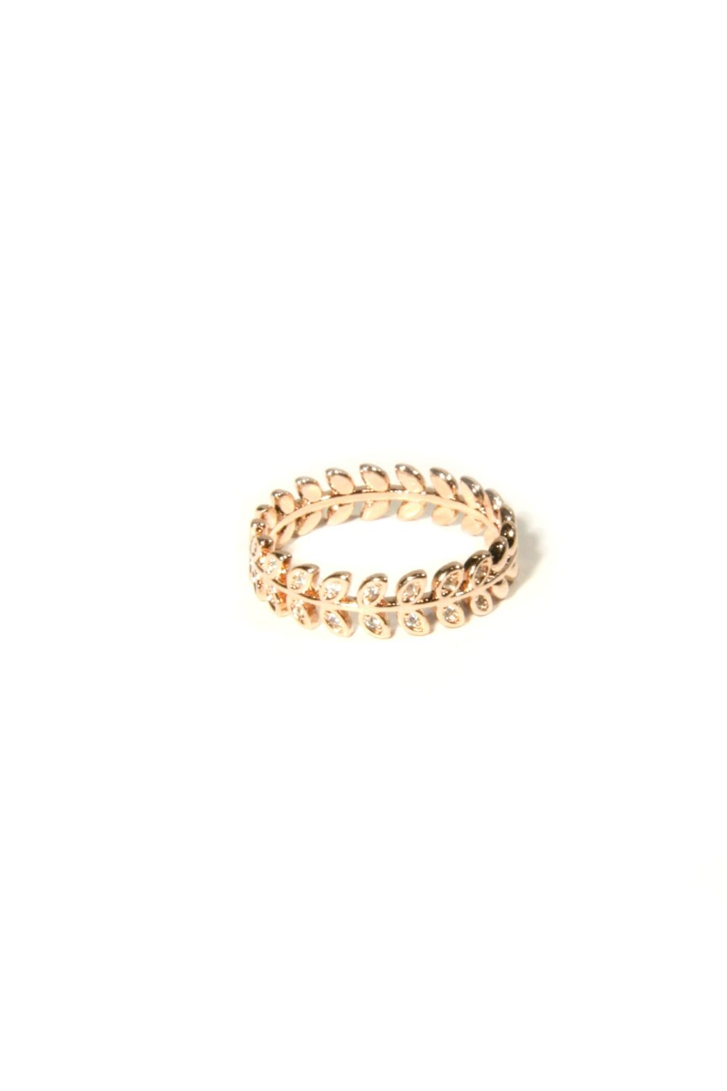 Light Years Collection Vine Wrap Ring - Front Cropped Image