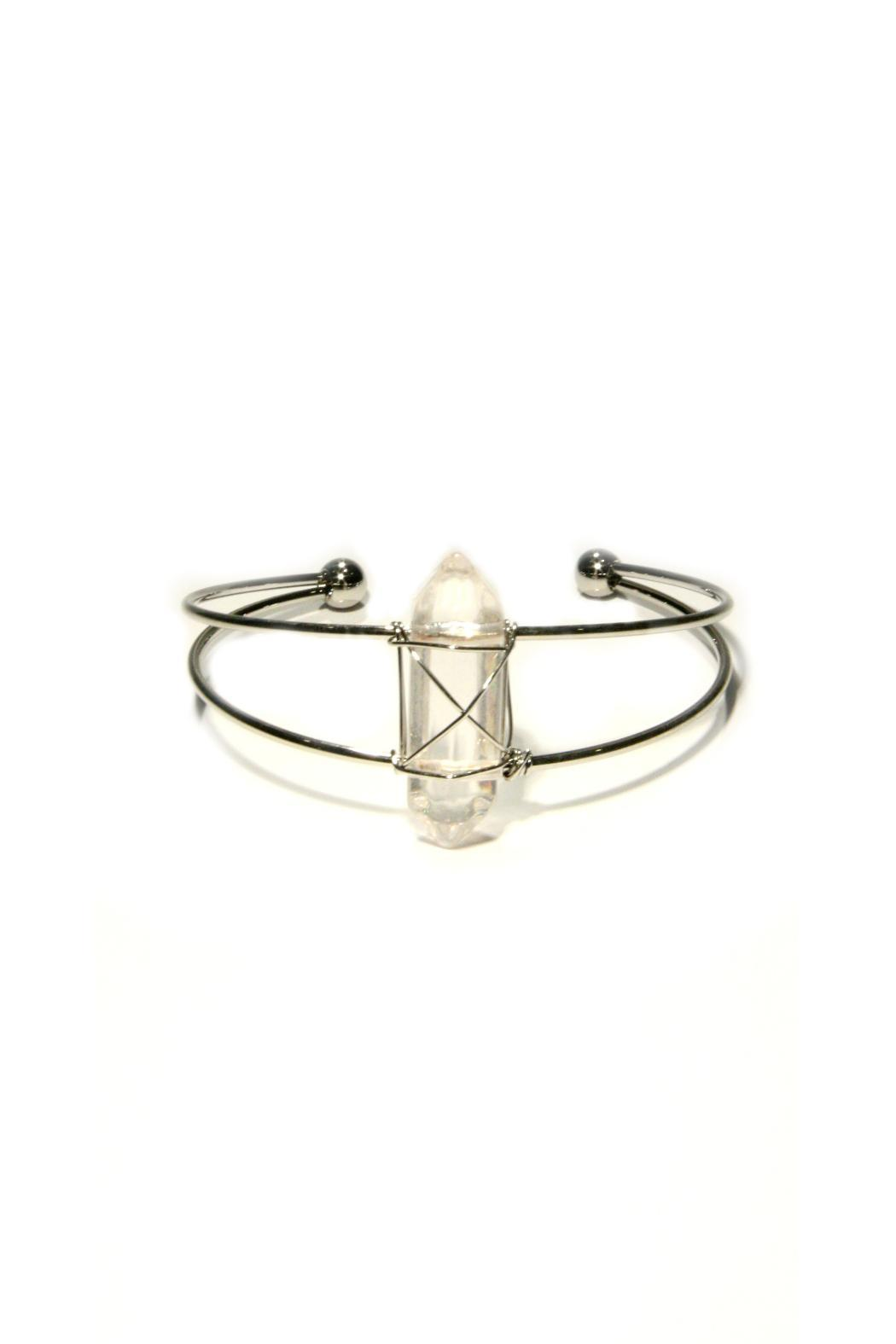 Light Years Collection Wrapped Crystal Cuff - Main Image