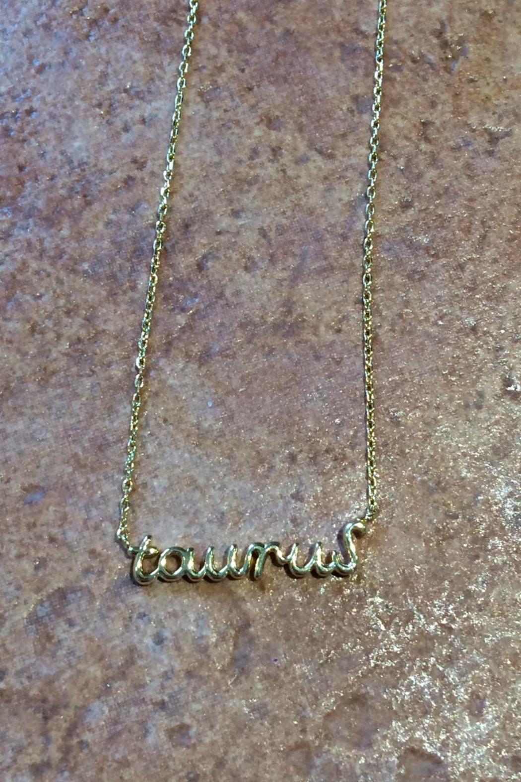 Light Years Collection Zodiac Script Necklaces - Main Image