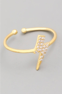 Shoptiques Product: Lightening Bolt Ring