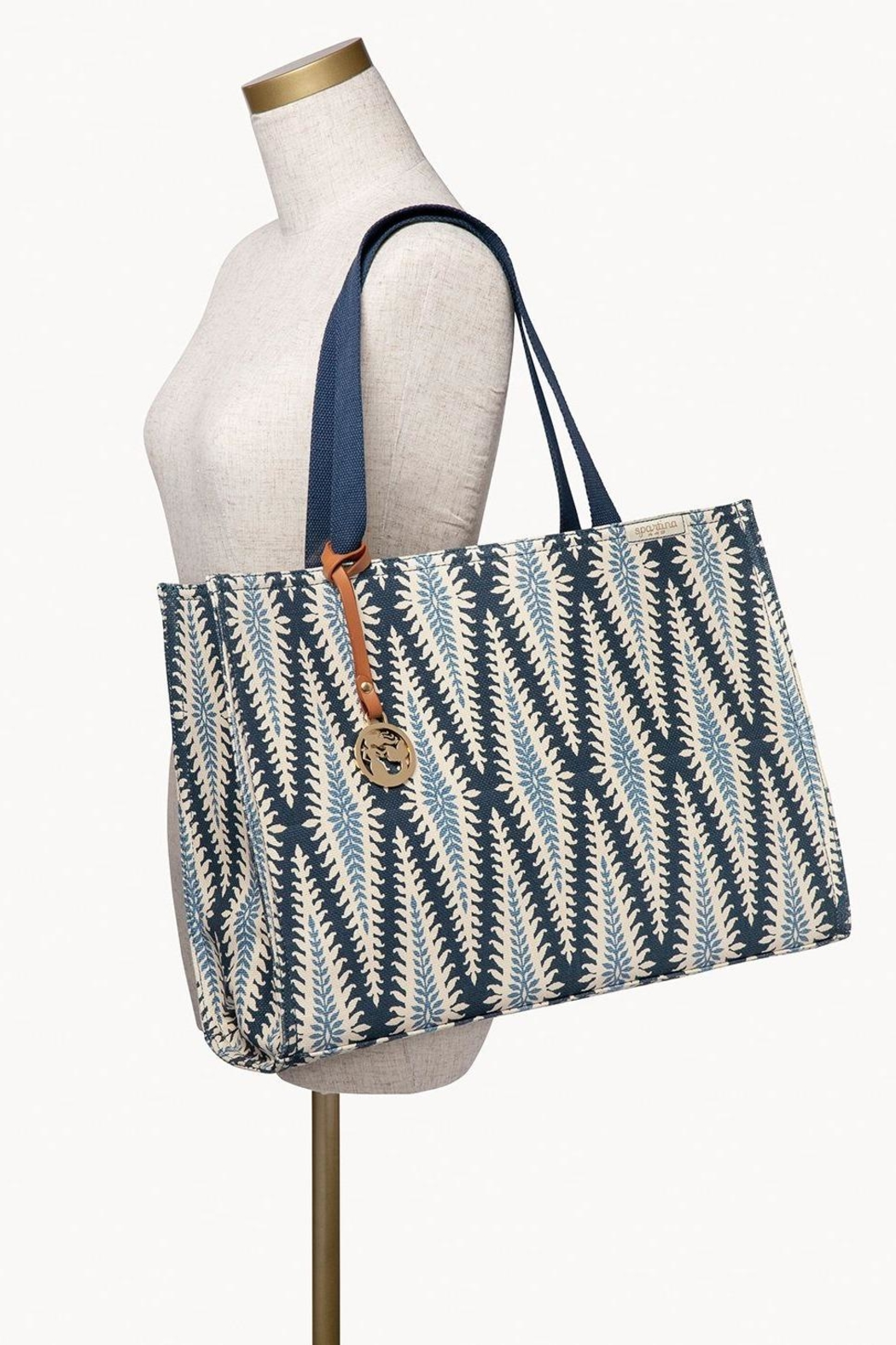 Spartina 449 Lighthouse Market Tote - Side Cropped Image