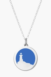 Auburn Jewelry Lighthouse Silver Pendant - Original - Product Mini Image