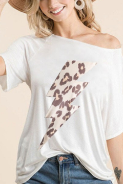 Bibi Lighting Bolt Graphic Tee - Alternate List Image