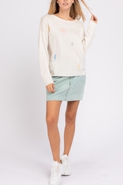 Le Lis Lighting Bolt Sweater - Front cropped
