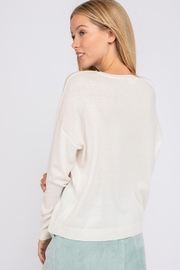 Le Lis Lighting Bolt Sweater - Side cropped