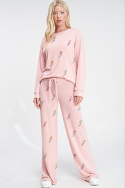 Phil Love Lightning All Over Lounge Pants - Product Mini Image