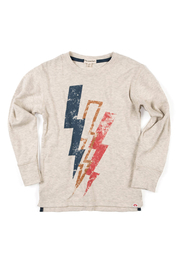Appaman Lightning Bolt Long Sleeve Tee - Front cropped