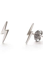 Amano Trading, Inc. lightning bolt stud earrings - Product Mini Image