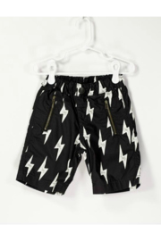 Bitz Kids  Lightning Bolt Typewriter Shorts - Product Mini Image