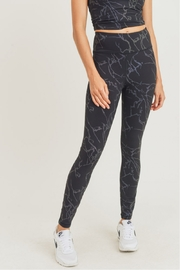 Mono B  Lightning Reflective Hi Waist Leggings - Product Mini Image