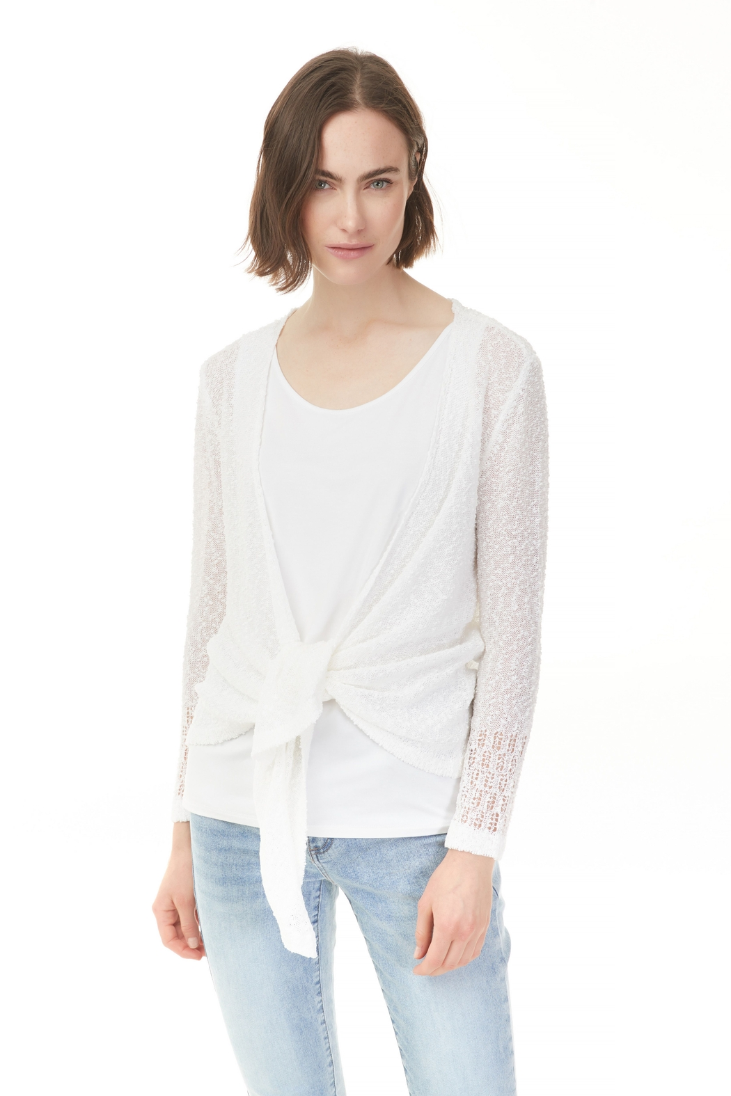 Charlie B. Lightweight Cardi - Front Cropped Image