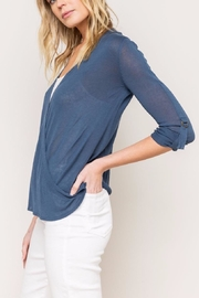 Mystree Lightweight Cardigian - Side cropped