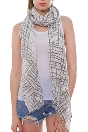 Wona Trading Lightweight Cross-Hatched Scarf - Product Mini Image