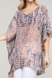 Ninexis LIGHTWEIGHT EASY BREEZY PONCHO - Product Mini Image