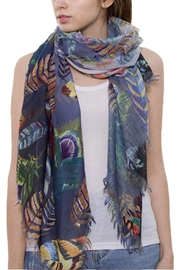 Wona Trading Lightweight Feather Scarf - Product Mini Image