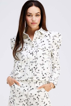 Shoptiques Product: Lightweight Floral Jacket