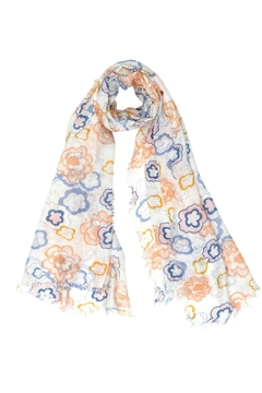 Myra Bags Lightweight Floral Scarf - Product List Image