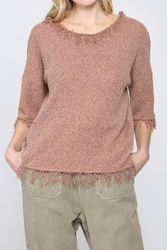 FATE by LFD Lightweight fringe sweater - Product List Image