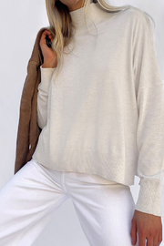 French Connection Lightweight High Neck Jumper - Product Mini Image