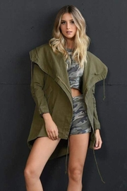 Tracie's Lightweight Hooded Jacket - Product Mini Image