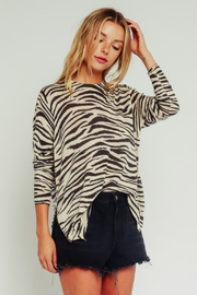 Olivaceous Lightweight Knit Sweater - Product Mini Image