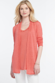 Nic +Zoe lightweight long cardigan - Front cropped