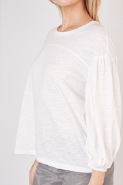 Mustard Seed  Lightweight Long Sleeve Top - Front full body