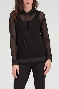 House of Atelier Lightweight Meshed Coverup - Product List Image