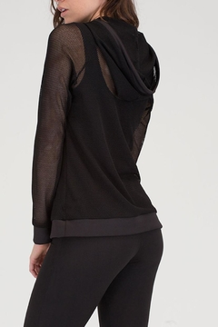 House of Atelier Lightweight Meshed Coverup - Alternate List Image