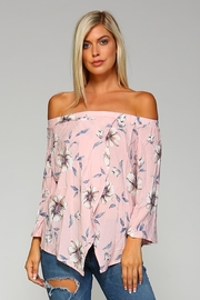 Racine Lightweight Off-Shoulder Top - Product Mini Image