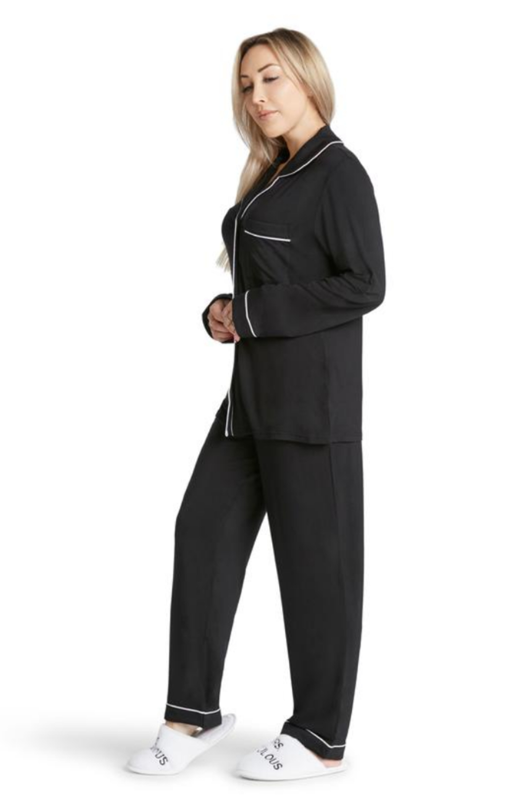 Los Angeles Trading Co.  Coco - Lightweight Pj Set - Front Full Image