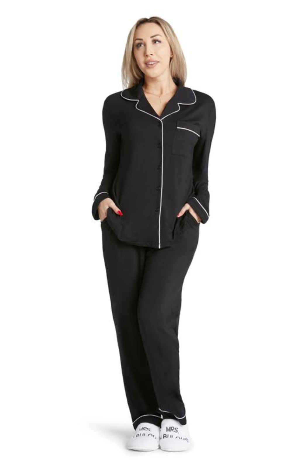 Los Angeles Trading Co.  Coco - Lightweight Pj Set - Side Cropped Image
