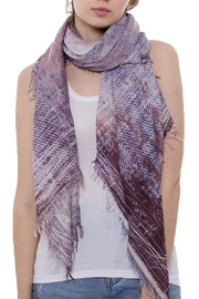 Wona Trading Lightweight Purple Scarf - Product Mini Image