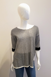 Katherine Barclay Lightweight Striped Top - Product Mini Image
