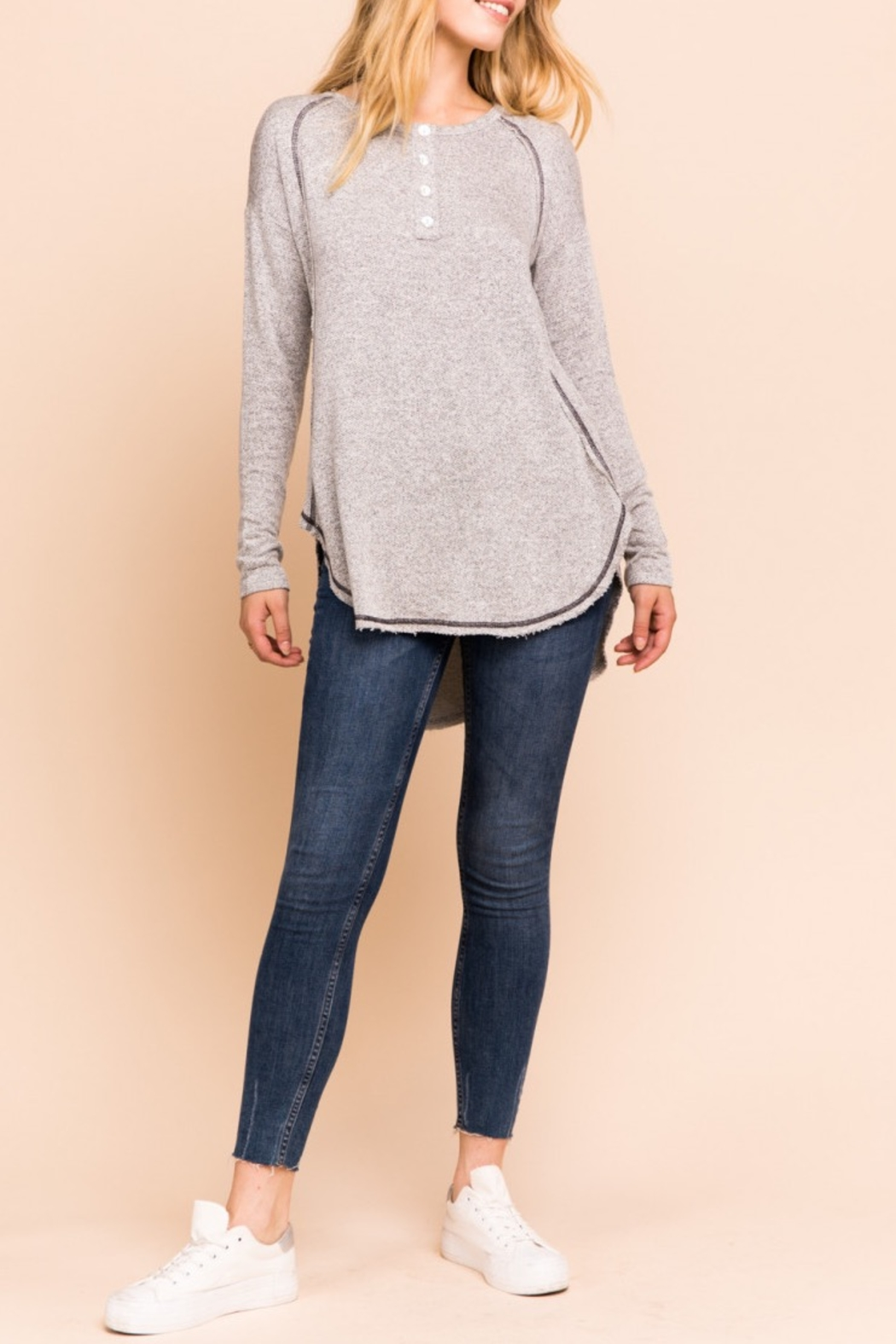 Gilli Lightweight sweatshirt - Front Cropped Image