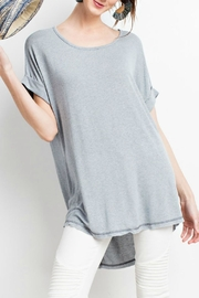 easel Lightweight Tunic Top - Product Mini Image