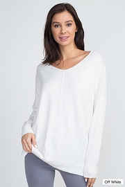 Dreamers Lightweight v-Neck Sweater - Product Mini Image