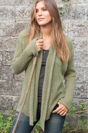 Wooden Ships Lightweight Wrap Cardigan - Front cropped