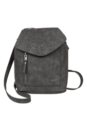 Roxy Like A River Small Faux Leather Backpack - Front cropped