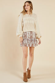 Sadie & Sage Like A Viper Skirt - Front cropped