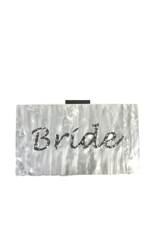 Shoptiques Product: Like Dreams Bride Acrylic Clutch